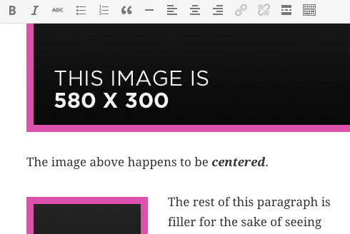 Example of changing image properties via CSS