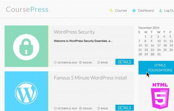 CoursePress theme