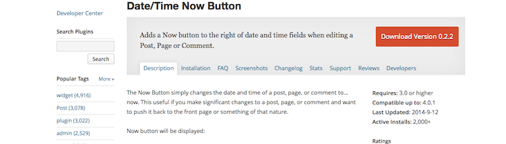 datetime-now-button