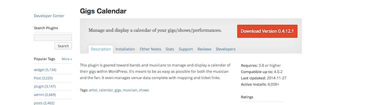 gigs-calendar