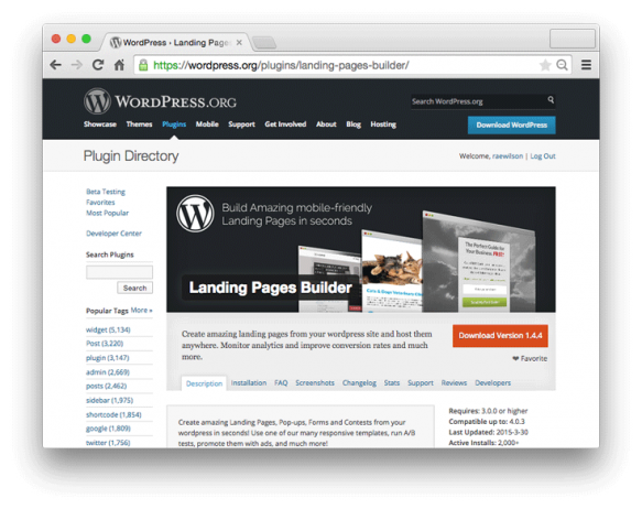 Landing Pages Builder beat the competition. And it's free!