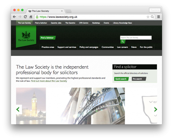 Law Society of the UK
