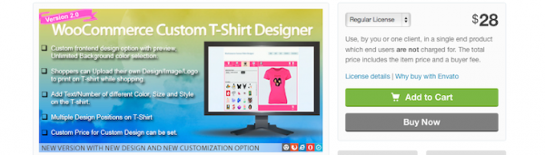 How to build a rocking band website with wordpress and for T shirt designer plugin