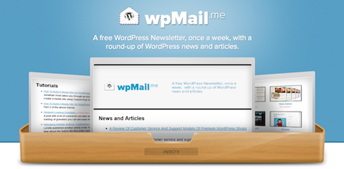 Get the latest in WordPress in your inbox, weekly.