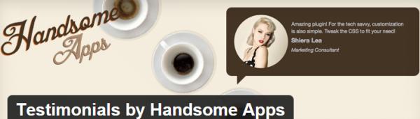 Handsome Apps Testimonials plugin