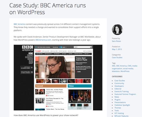 WordPress VIP hosts BBC America.