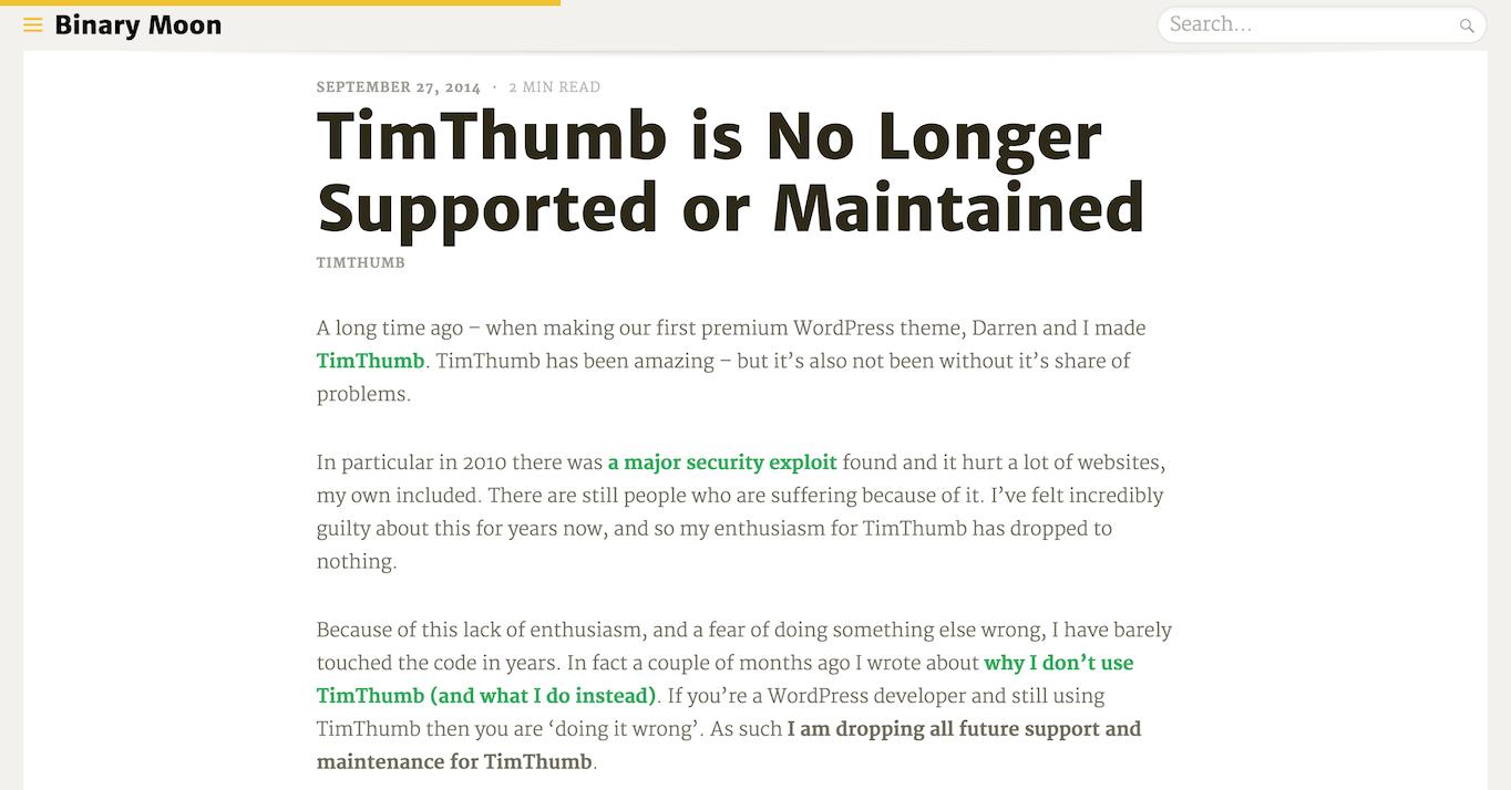 Binary Moon Tim Thumb article