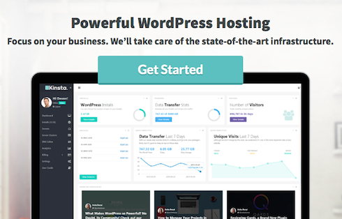 Kinsta is just one of many managed WordPress hosts.
