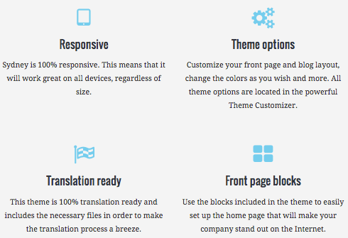 What features are you looking for in a free theme?