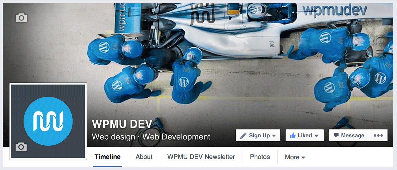 Our Facebook page. Like us!