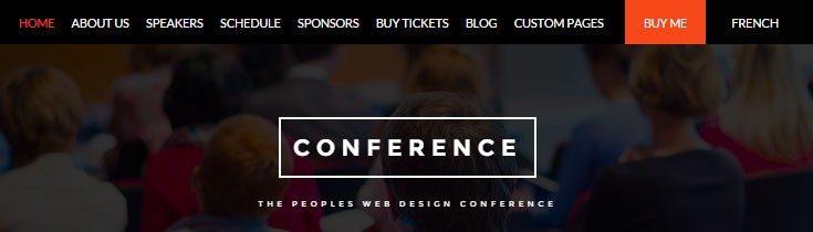 Conference Event Theme