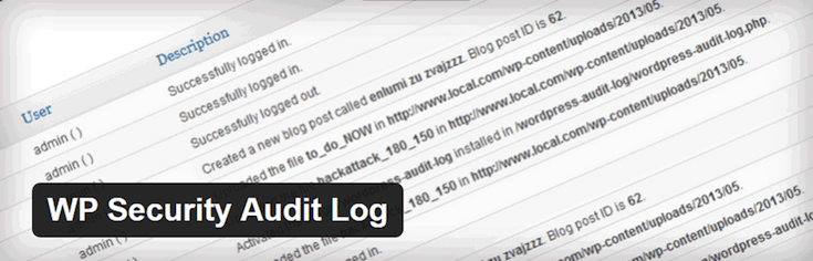 A great, free plugin option for checking over activity on your site.