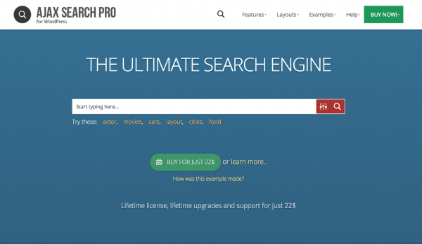 Ajax Search Pro - Live WordPress Search & Filter Plugin by ...
