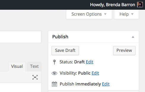 "A code snippet can easily remove that ""Howdy."""