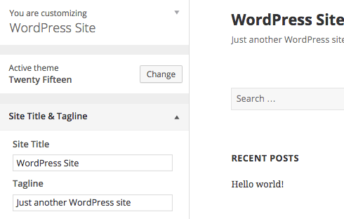 "There's no excuse for leaving ""Just another WordPress site"" on your site."