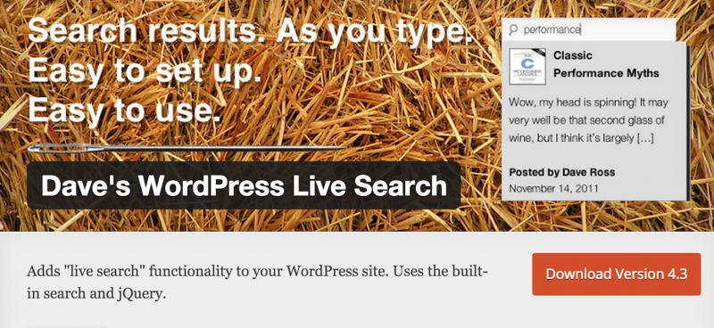 wordpress-search-live
