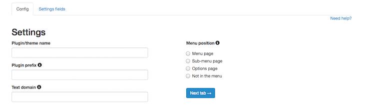 wordpress-settings-api