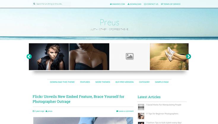 15 Free Stunning WordPress Themes That Prove Parallax Isn't Dead