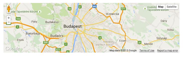 Modified Map Shortcode
