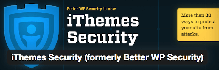 iThemes Security is a solid security plugin solution.