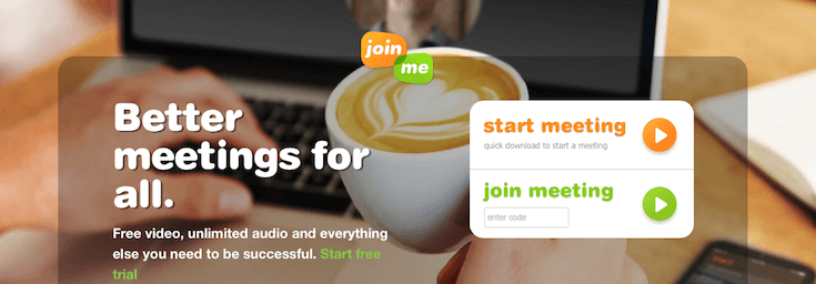 join.me is just one of many screencast services out there.