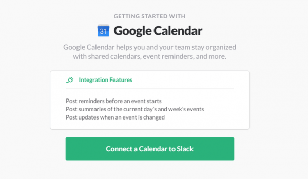 Stack's Google Calendar Integration Options