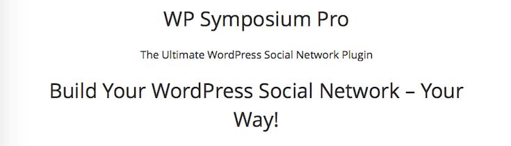 wp-symposium-pro