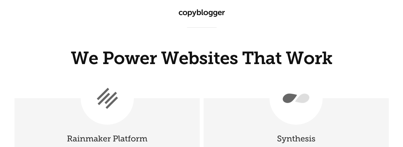 Copyblogger: Copywriting advice for bloggers and online marketers.