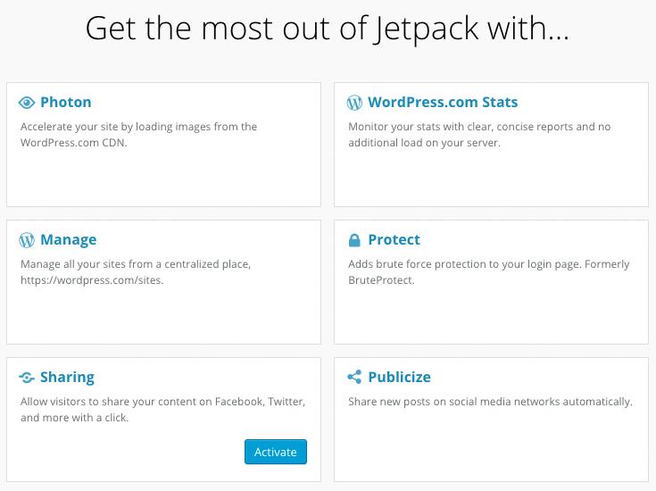 Jetpack Main Admin