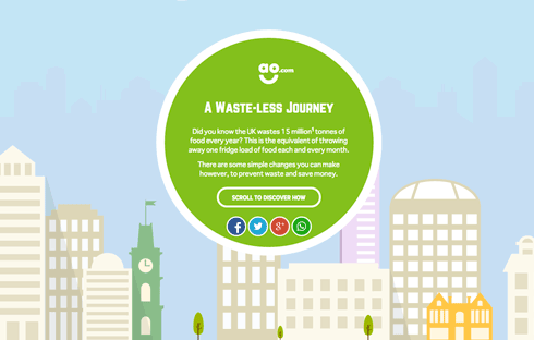 A Waste-Less Journey offers tips on how you can prevent waste and save money.