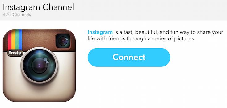 IFTTT Instagram Connect