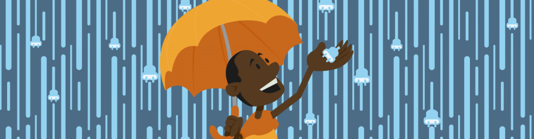 Raining WordPress plugins