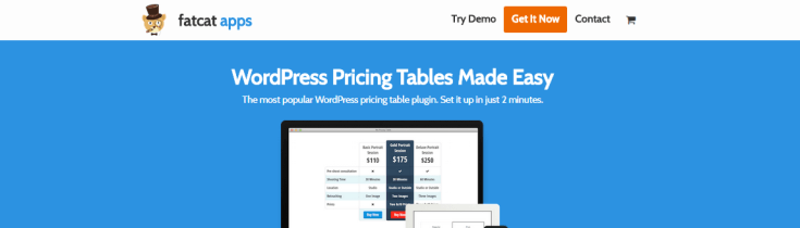 Easy Pricing Tables.