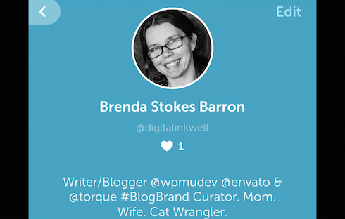 My Periscope bio.