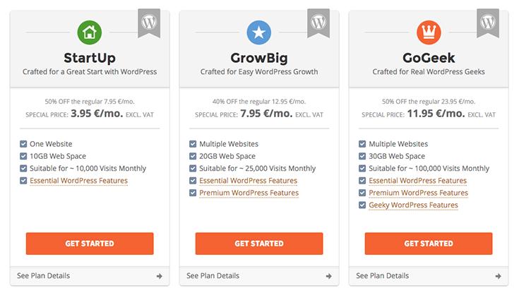 SiteGround services