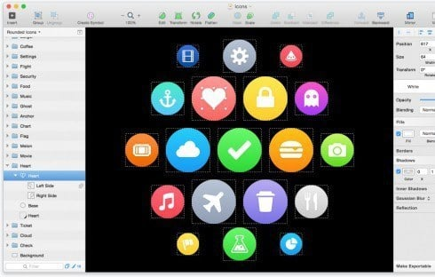 Precision objects with Sketch.