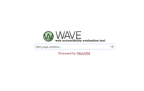 The WAVE Tool helps developers assess site accessibility.
