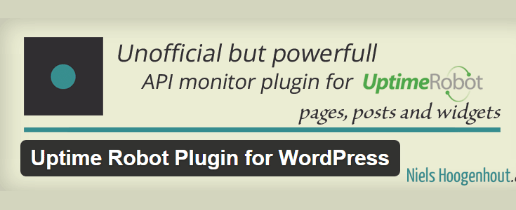 Uptime Robot Pugin for WordPress