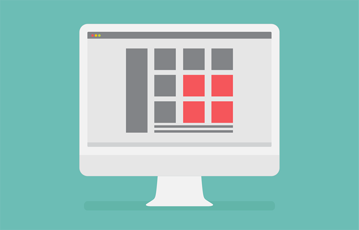 An area is what forms the different layout sections in your grid.