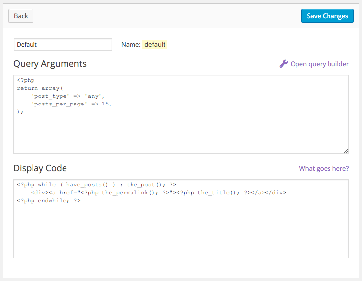 Templates in FacetWP.