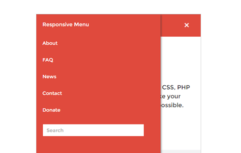 There are lots of fantastic free plugins for adding responsive menus to your site.