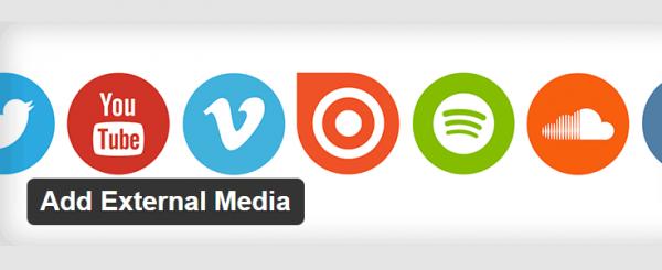 Add External Media plugin