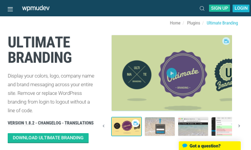 If your clients doesn't have the technical skills to use WordPress out of the box, you can use the Ultimate Branding plugin to make things easier for them