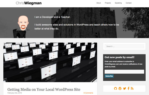 Chris Wiegman is a successful WordPress developer and teacher.
