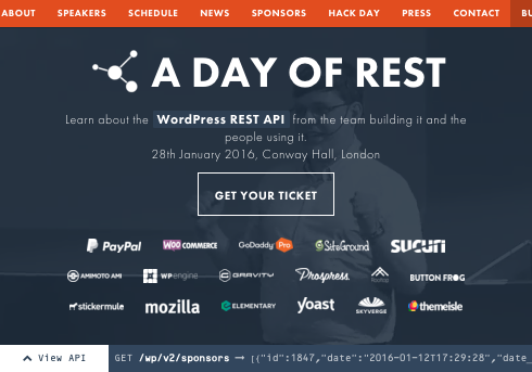feelingRESTful website for A day of REST