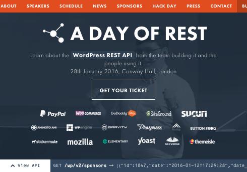 feelingRESTful website for A day of REST
