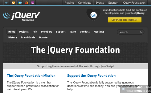 jQuery website