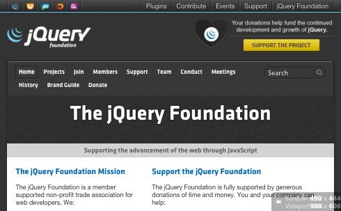 jQuery website