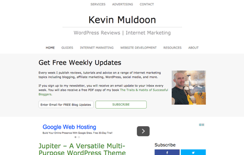 Kevin Muldoon is a blogger and internet marketer.