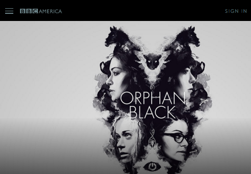 BBC America website